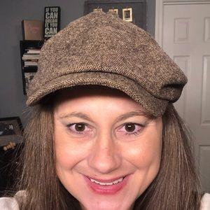 Vintage brown beret